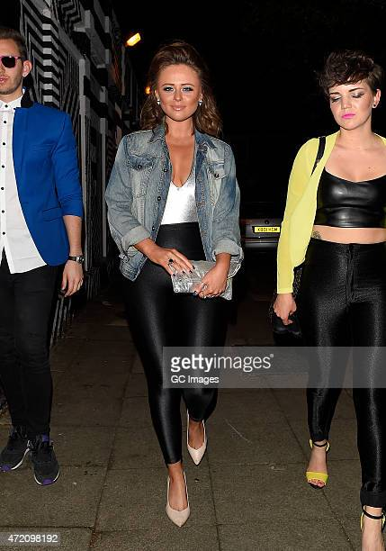 Emily Atack attends Laura Whitmore's 30th 1985 fancy dress Birthday party at Clutch in East London on May 3 2015 in London England