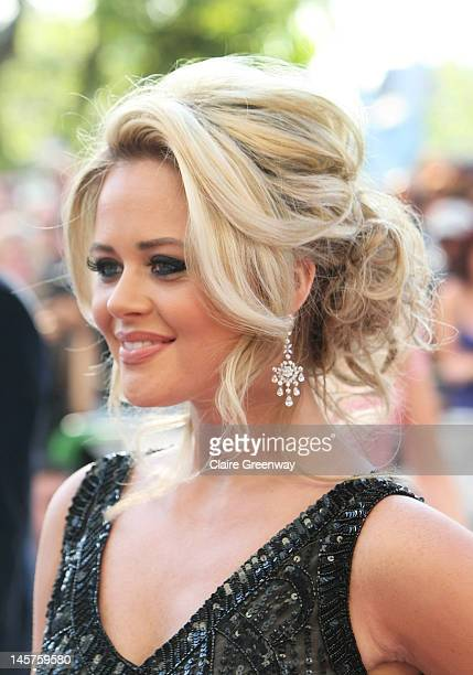 Emily Atack attends The Arqiva British Academy Television Awards 2012 at The Royal Festival Hall on May 27 2012 in London England