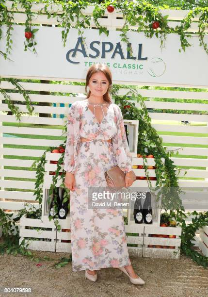 Emily Atack attends the Aspall Tennis Classic at The Hurlingham Club on June 30 2017 in London England