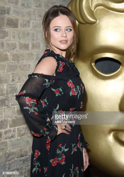 Emily Atack attends the BAFTA Children's awards at The Roundhouse on November 26 2017 in London England