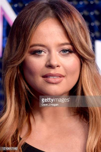Emily Atack attends The Global Awards 2020 at Eventim Apollo Hammersmith on March 05 2020 in London England