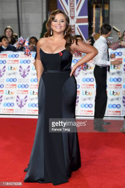 Emily Atack attends the Pride Of Britain Awards 2019 at The Grosvenor House Hotel on October 28 2019 in London England