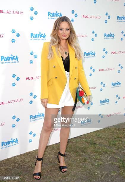 Emily Atack attends the UK premeire of 'Patrick' at on June 27 2018 in London England