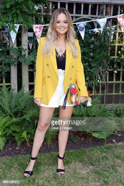 Emily Atack attends the UK premiere of 'Patrick' at an exclusive private London garden on June 27 2018 in London England