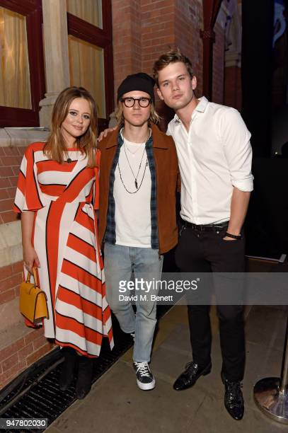Emily Atack Dougie Poynter and Jeremy Irvine attend as Marriott International celebrates worldclass loyalty programme with event including exclusive...
