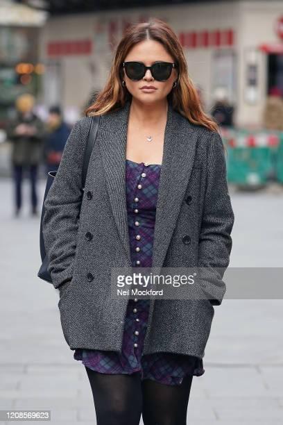 Emily Atack leaving Global Radio studios on February 25 2020 in London England
