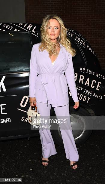 Emily Atack seen attending Emily Atack x In The Style launch party at Libertine on March 06 2019 in London England