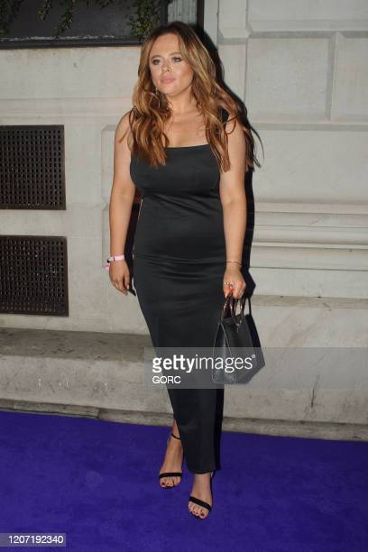 Emily Atack seen attending the BRIT Awards 2020 Universal afterparty at the Ned hotel on February 18 2020 in London England