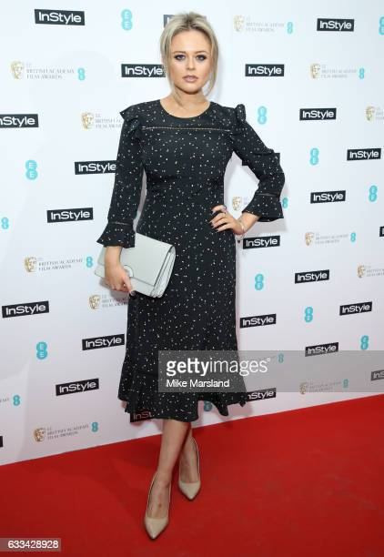 Emily Atackattends the InStyle EE Rising Star Party at the Ivy Soho Brasserie on February 1 2017 in London England
