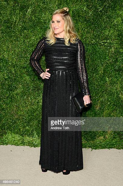 Emily Baldwin attends the 12th annual CFDA/Vogue Fashion Fund Awards at Spring Studios on November 2, 2015 in New York City.