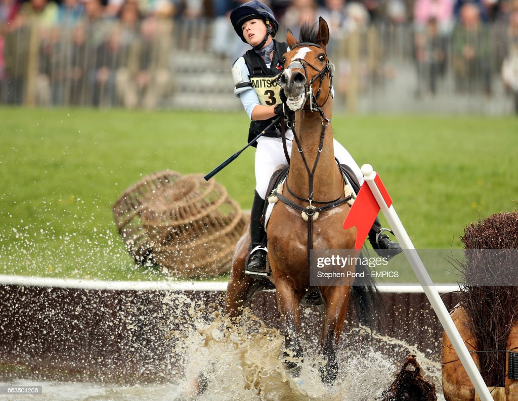Emily Baldwin Riding Drivetime Fails To Jump Out Of The Water During News Photo Getty Images