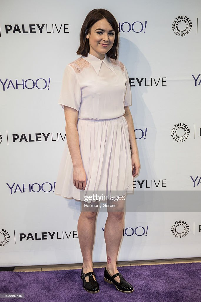 Emily Barclay attends the Paley Center for Media on October 22, 2015 in Beverly Hills, California.