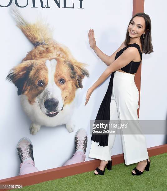Emily Bear arrives at the premiere of Universal Pictures' A Dog's Journey at ArcLight Hollywood on May 9 2019 in Hollywood California