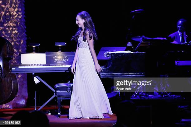Emily Bear performs onstage at the ASCAP Centennial Awards at Waldorf Astoria Hotel on November 17 2014 in New York City
