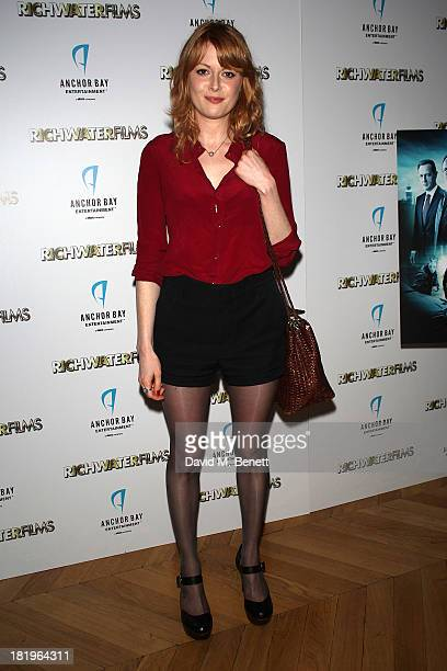 Emily Beecham attends a drinks reception celebrating the new coproduction agreement between Anchor Bay Films and Richwater Films at The Groucho Club...