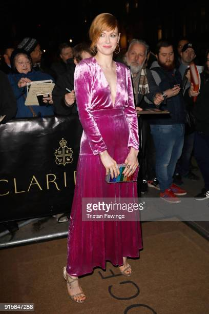 Emily Beecham attends the Evening Standard British Film Awards at Claridges Hotel on February 8 2018 in London England