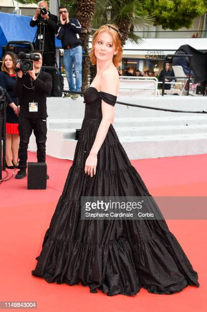 "Emily Beecham attends the screening of ""Little Joe"" during the 72nd annual Cannes Film Festival on May 17, 2019 in Cannes, France."
