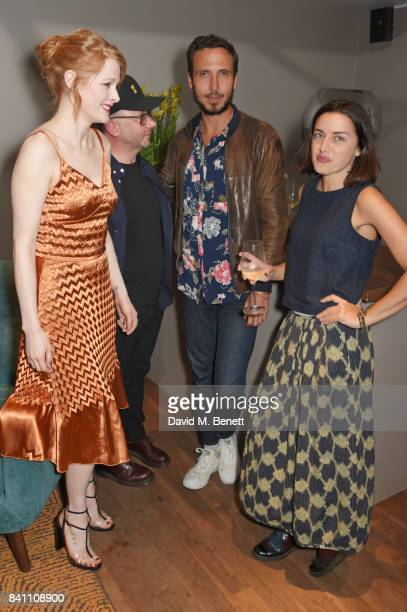 Emily Beecham Peter Mackie Burns Nico Mensinga and Valentina Brazzini attend a special screening of 'Daphne' at the BFI Southbank on August 30 2017...