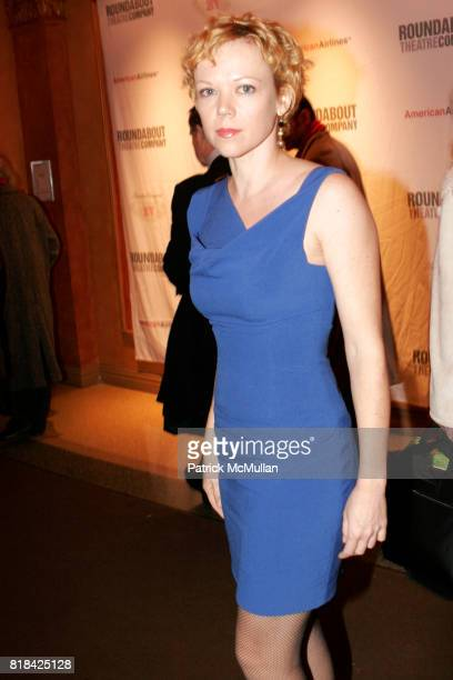 Emily Bergl attends Opening Night of Present Laughter at American Airlines Theater on January 21 2010 in New York City