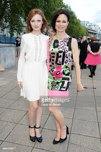 Emily Berrington and Mary Lynn Rajskub attend the UK premiere of 24 Live Another Day at Old Billingsgate Market on May 6 2014 in London England