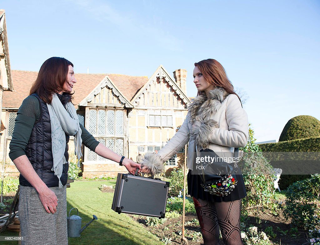 Emily Berrington and Michelle Fairley in the
