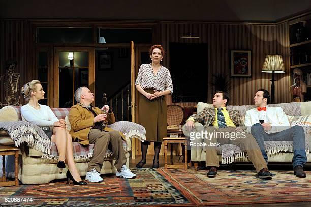 Emily Berrington as Lisa, Steve Pemberton as Brian, Katherine Parkinson as Eleanor, Rufus Jones as Richard and Ralf Little as Nick in Terry Johnson's...