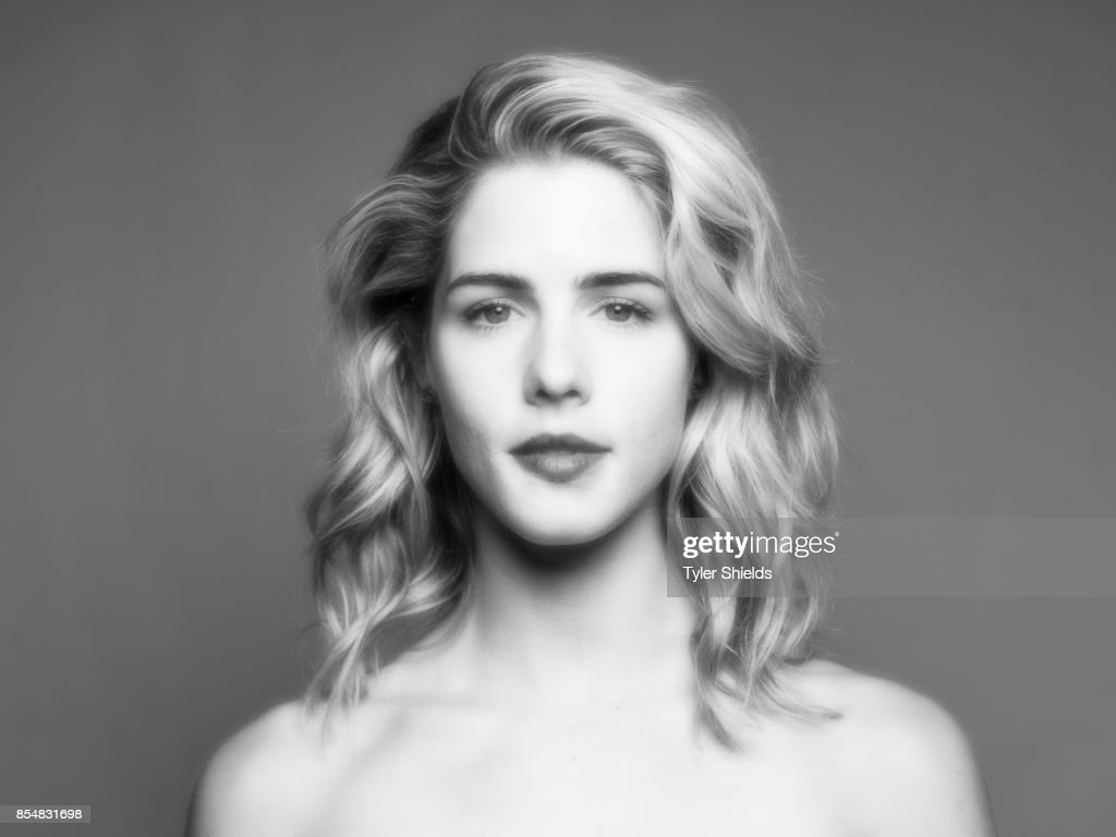 Colton Hayes and Emily Bett Rickards, Self Assignment, January 9, 2016