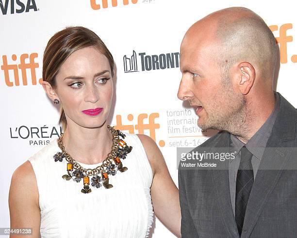 Emily Blunt and director Dante Ariola attending the The 2012 Toronto International Film FestivalRed Carpet Arrivals for 'Arthur Newman' at the Elgin...