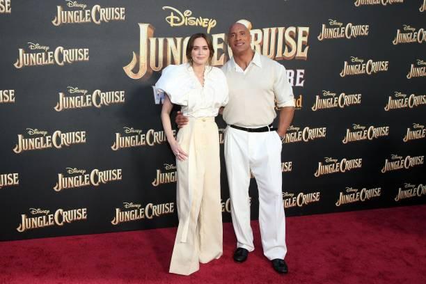 "CA: World Premiere Of Disney's ""Jungle Cruise"" - Arrivals"