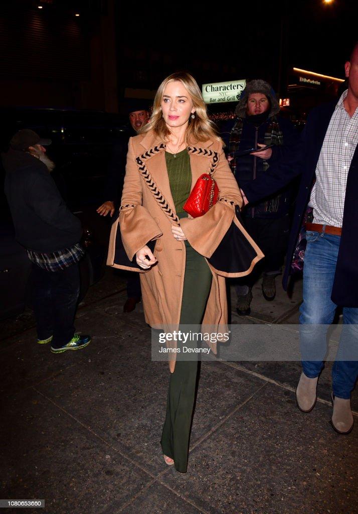 Celebrity Sightings in New York City - January 10, 2019 : News Photo
