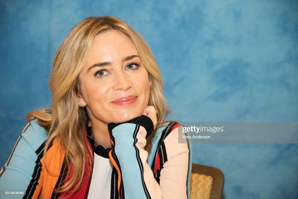 """""""Mary Poppins Returns"""" Press Conference : News Photo"""