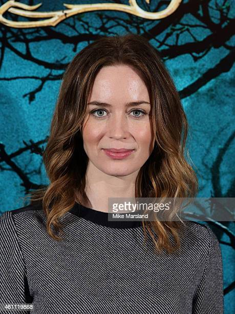 Emily Blunt attends a photocall for 'Into The Woods' at Corinthia Hotel London on January 7 2015 in London England
