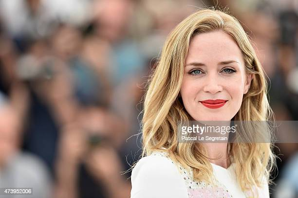 "Emily Blunt attends a photocall for ""Sicario"" during the 68th annual Cannes Film Festival on May 19, 2015 in Cannes, France."