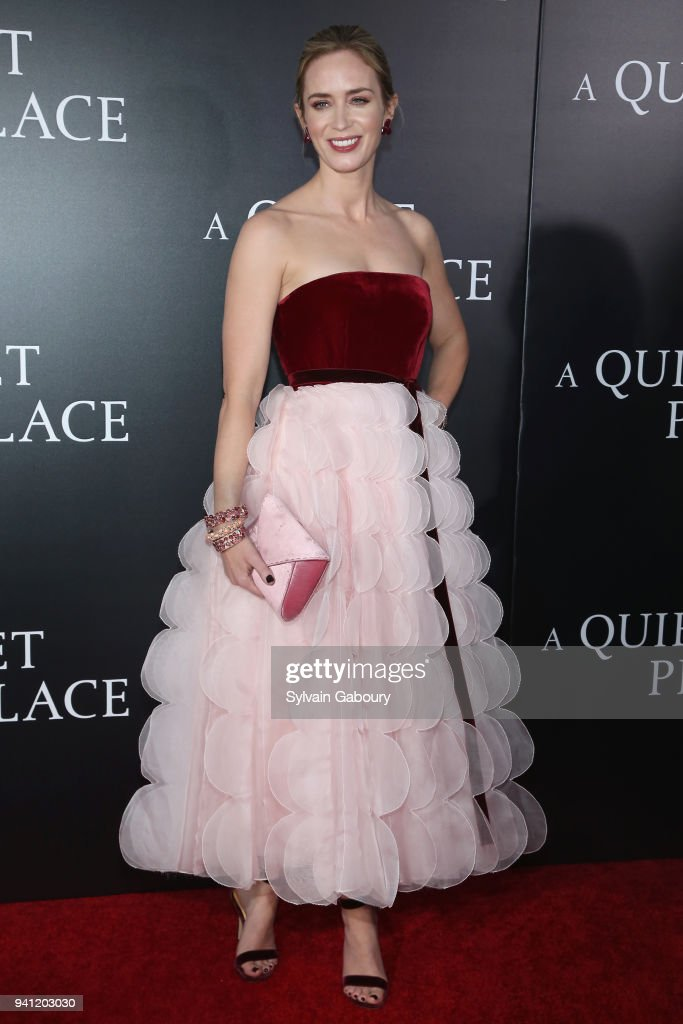 """New York Premiere of """"A Quiet Place"""" : News Photo"""