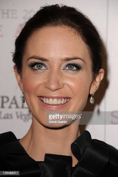 Emily Blunt attends the 2010 Hollywood Style Awards at The Billy Wilder Theater at the Hammer Museum on December 12 2010 in Los Angeles California