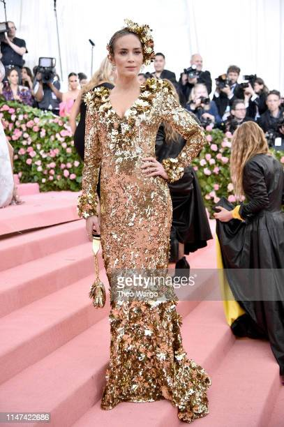Emily Blunt attends The 2019 Met Gala Celebrating Camp Notes on Fashion at Metropolitan Museum of Art on May 06 2019 in New York City