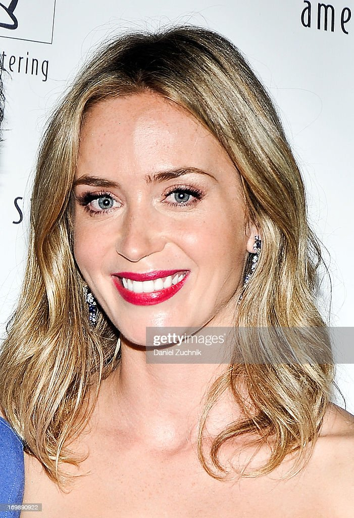 Emily Blunt attends the 7th Annual 'Freeing Voices, Changing Lives' Benefit Gala at Tribeca Rooftop on June 3, 2013 in New York City.