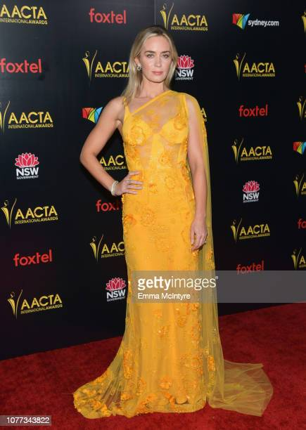 Emily Blunt attends the 8th AACTA International Awards at Mondrian Los Angeles on January 4 2019 in West Hollywood California