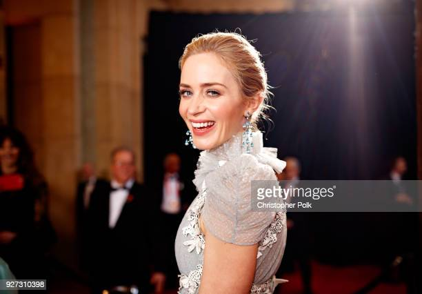 Emily Blunt attends the 90th Annual Academy Awards at Hollywood Highland Center on March 4 2018 in Hollywood California