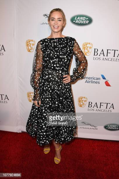 Emily Blunt attends The BAFTA Los Angeles Tea Party at Four Seasons Hotel Los Angeles at Beverly Hills on January 5 2019 in Los Angeles California