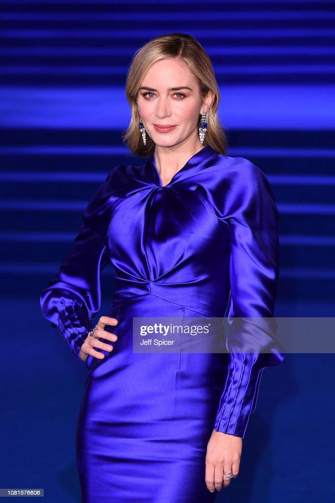 """Mary Poppins Returns"" European Premiere - Red Carpet Arrivals : News Photo"