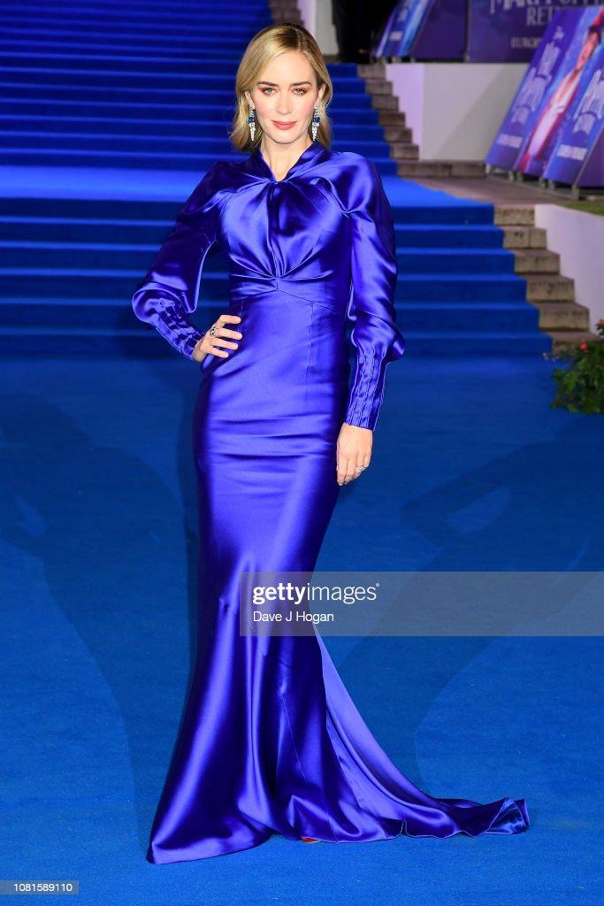 """Mary Poppins Returns"" European Premiere - VIP Arrivals : News Photo"