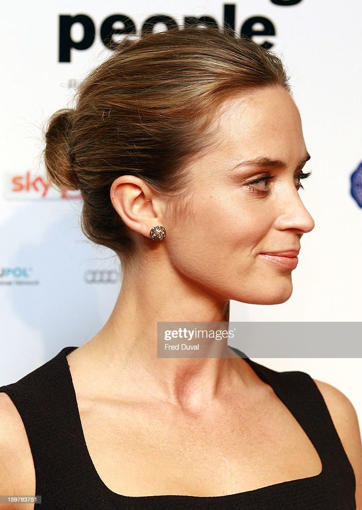 Emily Blunt attends the London Film Critics Circle Film Awards at The Mayfair Hotel on January 20, 2013 in London, England.