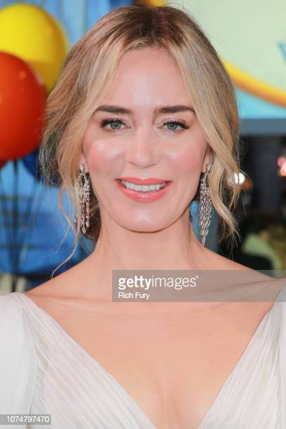 Emily Blunt attends the Premiere Of Disney's 'Mary Poppins Returns' at El Capitan Theatre on November 29 2018 in Los Angeles California