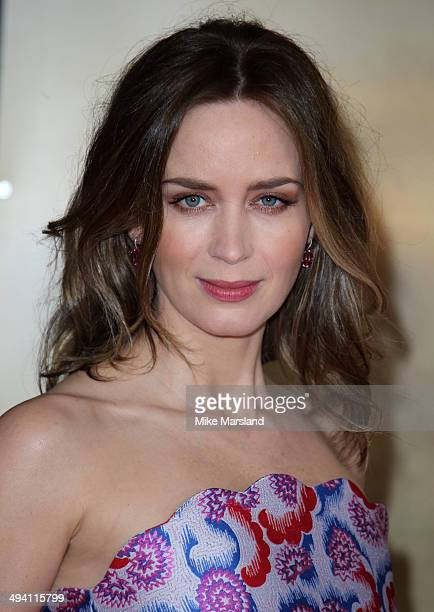 Emily Blunt attends the premiere of 'Edge Of Tomorrow' on May 28 2014 in London United Kingdom