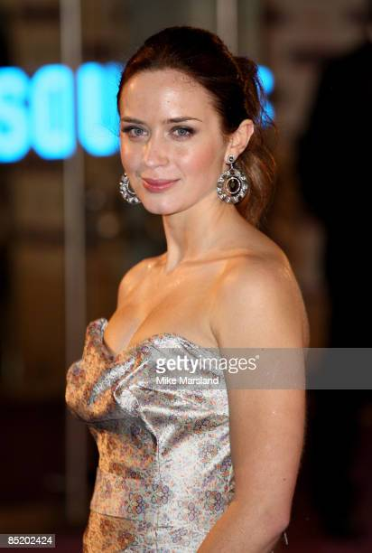 Emily Blunt attends the World Premiere of The Young Victoria at Odeon Leicester Square on March 3 2009 in London England