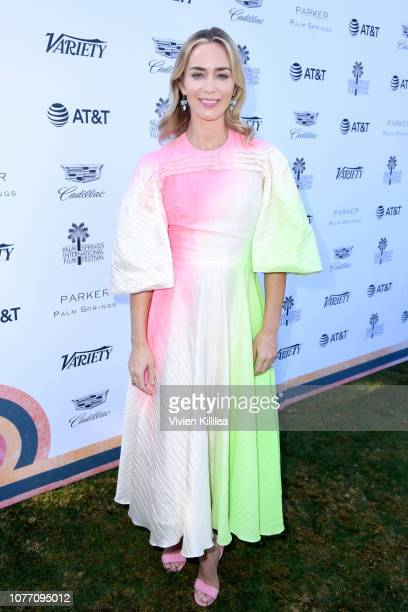 Emily Blunt attends Variety's Creative Impact Awards and 10 Directors to Watch Brunch during the 30th annual Palm Springs International Film Festival...