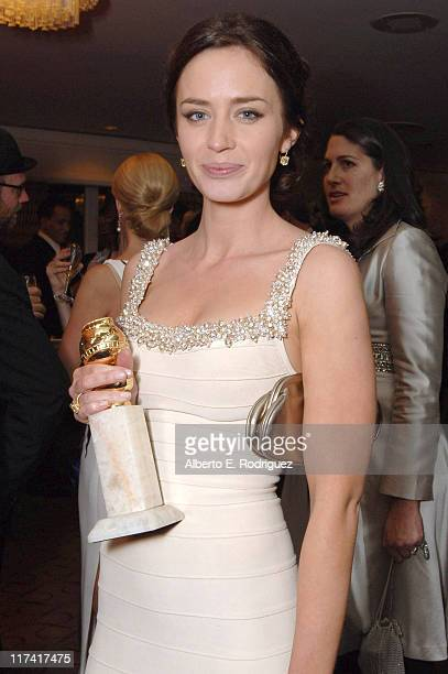 Emily Blunt during Fox Searchlight's 2007 Golden Globe After Party in Los Angeles California United States