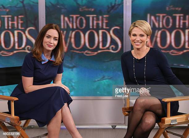 AMERICA Emily Blunt is a guest on 'Good Morning America' 12/10/14 airing on the ABC Television Network