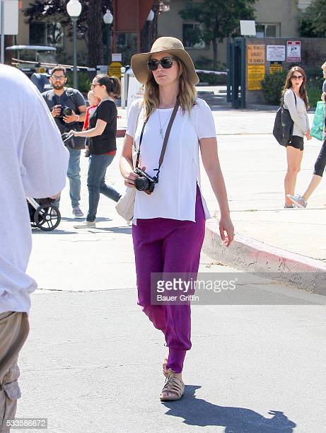Emily Blunt is seen on May 22 2016 in Los Angeles California
